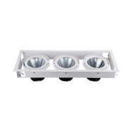High quality Recessed SAA EMC CCC grille 3x30 cob led downlight