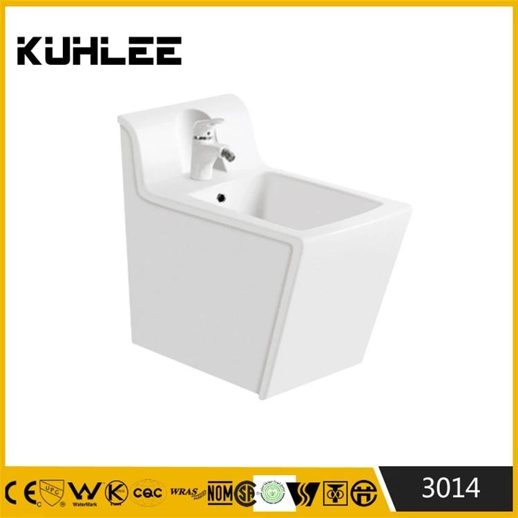 Floor standing rectangular women bidet toilet KL-3014