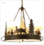 Rustic Style Lighting for Lodge Style and Log Homes farmhouse Decor lighting