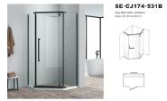 Hot SalesHigh Standard Professional Design Casement Door SE-CJ174-531