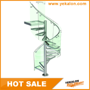 Best Choice Exceptional Quality Popular Design Steel Staircase YKS-SGH1