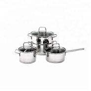 Factory manufacturer cheap price stainless steel cookware set
