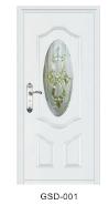 Yekalon GSD-003 Top10 Best Selling Top Class Brand Design Glass Series Modern Steel Security Door