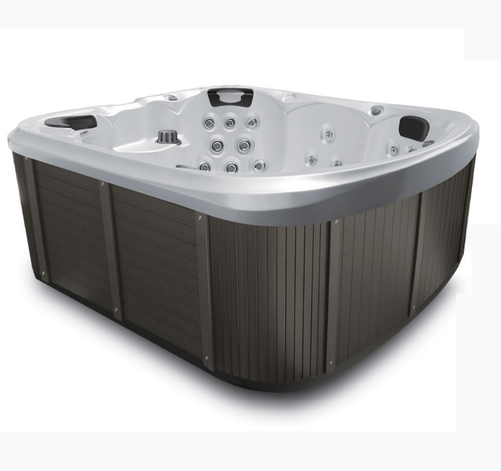 2019 new hottub6 People commercial hottub rectangle acrylic whirlpool masage family outdoor hot tub spa