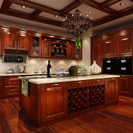 ZHEJIANG OUYI SMART KITCHEN CO.,LTD. Solid Wood Cabinets