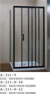 Pinghu City AOKELIYA Sanitary Ware Co.,Ltd Shower Screens