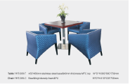 Sales Promotion High Quality Original Design Hotel furniture Restaurant Furniture Dining table&chair TC-12