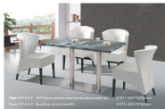 Best Selling Superior Quality Latest Design Hotel furniture Restaurant Furniture Dining table&chair TC-7