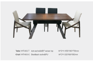New Product Highest Level Fancy Design Hotel furniture Restaurant Furniture Dining table&chair TC-14