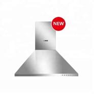 3 speed 2 washable 3 layers aluminum filter range hoodv chimney