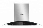Stainless Steel Curved Kitchen Range Hood Chimney D5C