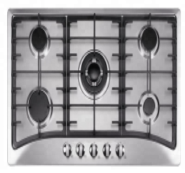 5 gas burner stainless steel panel auto ignition gas stove OEZ-915W2