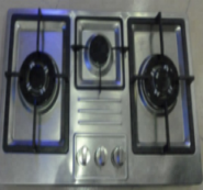 3 gas burner stainless steel panel with deep panel design auto ignition gas cooker stove