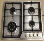 4 gas burner stainless steel panel with deep panel design auto ignition gas stove OEZ-614J