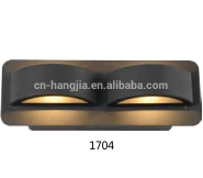 Ningbo Wholesale Waterpoof Aluminium body Glass diffuser LED COB 12W outdoor wall light