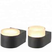 Ningbo Aluminium body PMMA/PC diffuser Warm White CCT LED outdoor decorative wall light