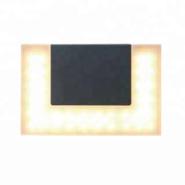 Ningbo Aluminium external material PMMA diffuser Compact design LED outdoor decorative wall light