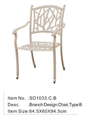 outdoor furniture Chair SD1033.C.B
