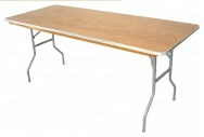 Qingdao Huarui Furniture Co.,Ltd. Outdoor Solid Wood Table & Chair