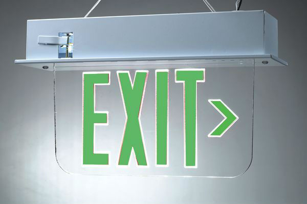 SGA-087 exit light emergency light emergency led exit sign board