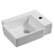 HY-3045 Wall hanging ceramic hand washing basin wholesale price