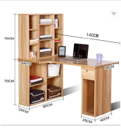Modern MDF/ panel/ wooden/ melamine fashionable computer desk