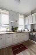 New Product Highest Level Fancy Design kitchen cabinet CG-035