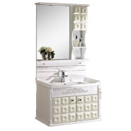 chinese factory cheap washroom modern bathroom vanity ,pvc bathroom cabinets from manufacturer