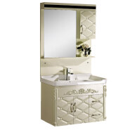 chinese factory cheap hotel pvc bathroom cabinet,chaozhou modern pvc bathroom vanity