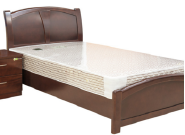Best Selling Superior Quality Latest Design Hotel bedroom solid wood bed CH-042