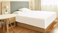 Hot Sell Hot Quality Fashionable Design Used Simple Bed Design In Woods Hotel Forniture CH-041