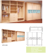 Sales Promotion High Quality Original Design Wardrobe WR
