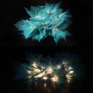 High Quality Decoration Light Natural Leaf Design String Lights For Holiday, Party, Wedding, Christm