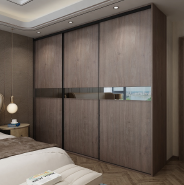 Hot Product Highest Quality Project modern design high quality sliding doors bedroom wardrobe