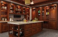 New Product Highest Level Fancy Design kitchen cabinet cg-057