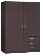 Best Seller Elegant Top Quality Personalized Design Cheap 2 Door 3 drawer Wardrobe