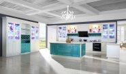Melamine Board Cabinet High Quality Hot Design kitchen cabinet cg-70
