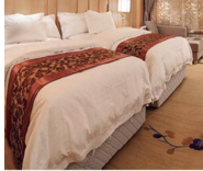 High Quality Hot Design Luxury 5 star hotel double bed furniture CH-070