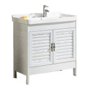 chinese factory cheap hotel modern style wathtub aluminum bathroom vanity with mirror