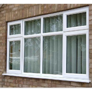 Modern design exterior UPVC window/ PVC windows design