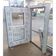 foshan supplier modern house style swing opening pvc window profile