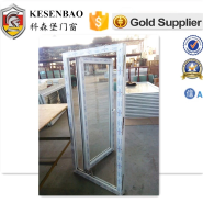 KSB make high quality double glass upvc opening outside window price