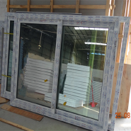 5mm double tempered clear glass Conch brand pvc window nigeria