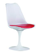 Polypropylene seat, Aluminum base
