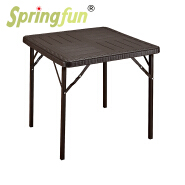 Garden tables with wooden design