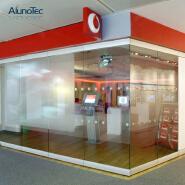 China Manufacturer Interior Partition Glass Wall Aluminum Frameless Folding Office Glass Sliding Doo