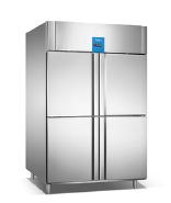 Industrial deep freezers chiller supplier/4 door refrigerator 1000L