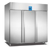 Chiller container 3 door upright 220v fridge freezer