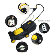 electric 1600W lawn mower 38cm cutting size home use lawn mower