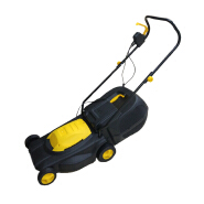 38cm cutting size electric 1600W lawn mower for garden and home use